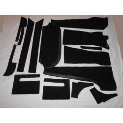 Moquette velours ou feutre différents coloris