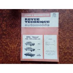 Revue Technique RTA Rekord