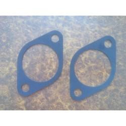 Joints (x2) entre fixation amortisseur et carrosserie