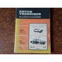 Revue Technique RTA Rekord...
