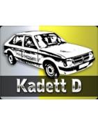 Pièces Opel Kadett D