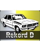 Pièces Opel Rekord D